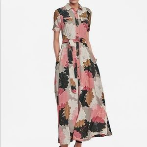 Banana Republic Floral Maxi Dress 12